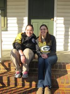 Katie and I - January 2015