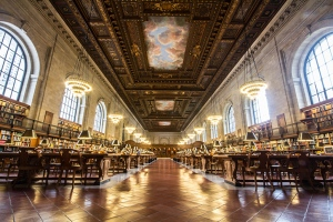 New York Public Library -  The Stephen A. Schwarzman Building Image Credit: www.nypl.org