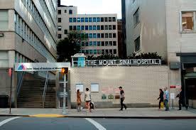 Mount Sinai Hospital Image Credit: himetop.wikidot.com