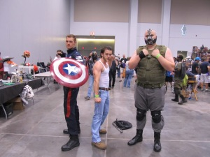Cap, Logan, Bane