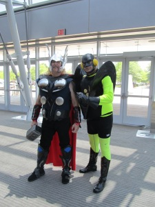 Thor and Yellow Jacket