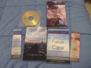CD with PDFs of all their books, three paperbacks written by Cecilee