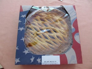 Debbie D. brought Red, White, and Blue Pie.