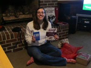 Heaven gave Laura Beth two things: A book about blogging and writing, and a journal!