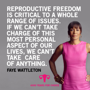 This photo was taken in December 2013. Faye Wattleton is the first African-American and youngest president of Planned Parenthood Federation of America. Image Credit: advocatesaz.org