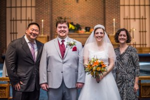 Pastor Eric and his wife, Heather!