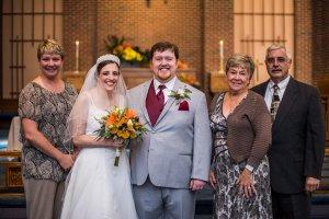 L to R: Cousin Kellie, LB, Al, Aunt Rosalind, and Uncle John.