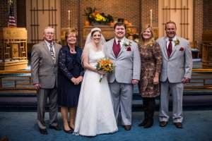 L to R: Uncle Ken, Aunt Karen, LB, Al, Aunt Brenda, and Uncle Joe.