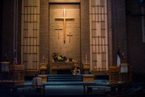 The sanctuary.