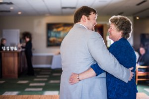 "Mother-son dance. Al and Mom danced to ""My Wish"" by Rascal Flatts."