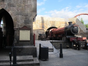 The Hogwarts Express!