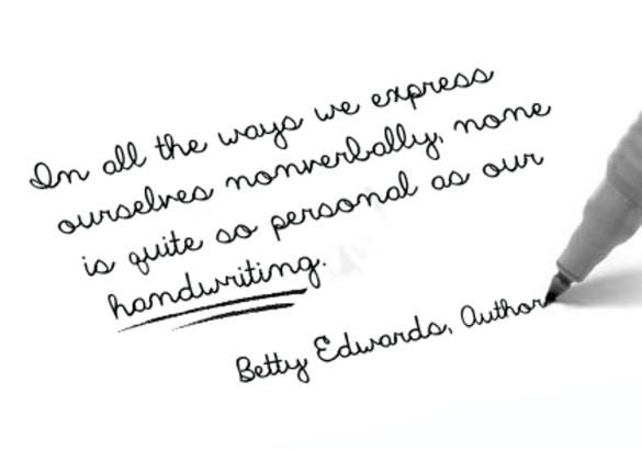Handwriting - quotationof