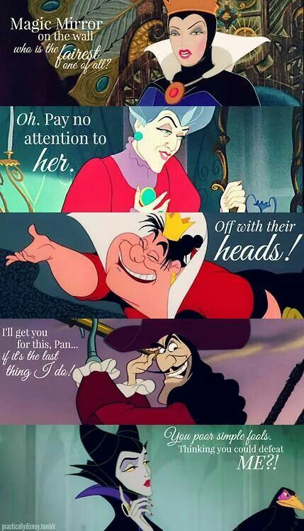 Disney Villains - pinterest