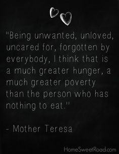 Mother Teresa - pinterest