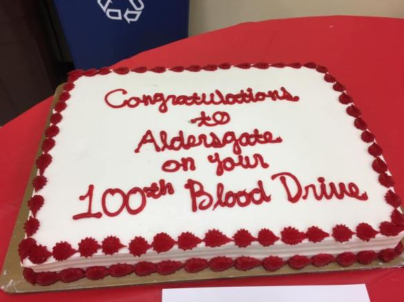 Blood Drive 100