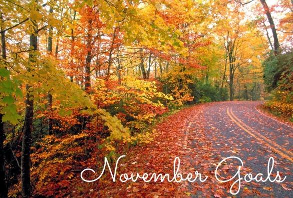 November Goals - Jen Russum