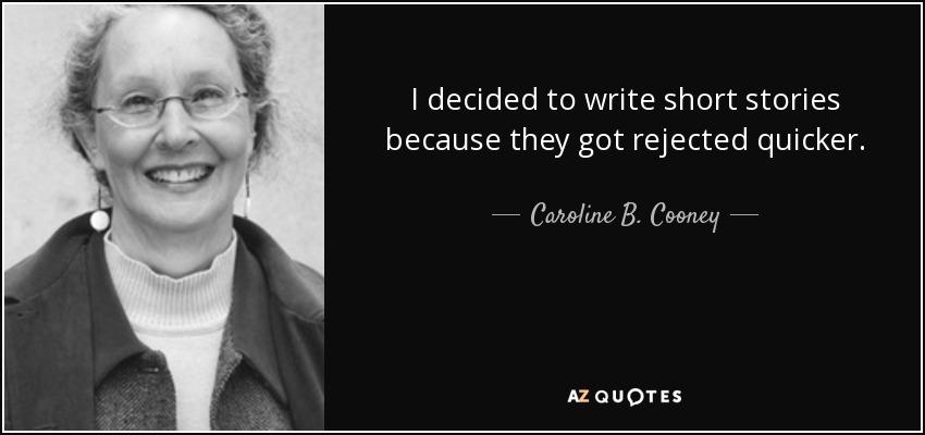 Caroline B Cooney - AZ Quotes