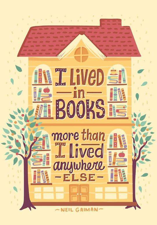 Book Quote - Neil Gaiman