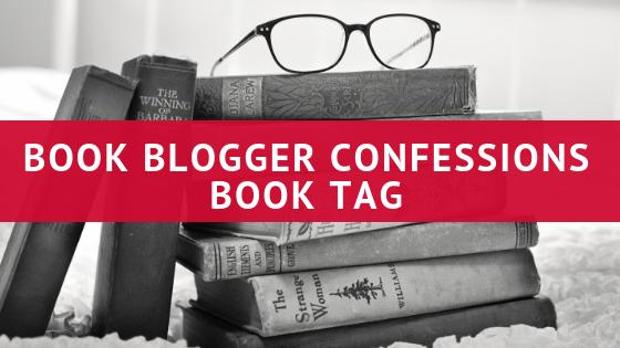book blogger confessions book tag