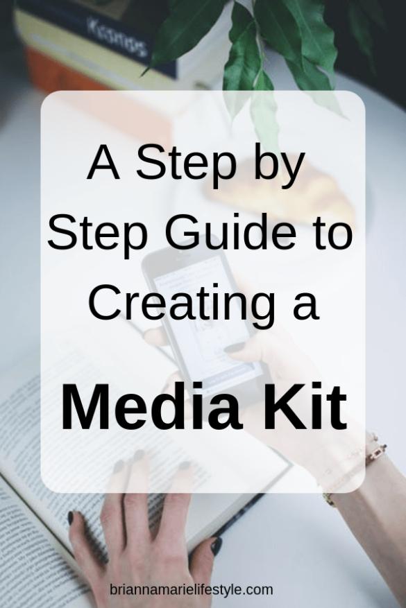 Creating A Media Kit
