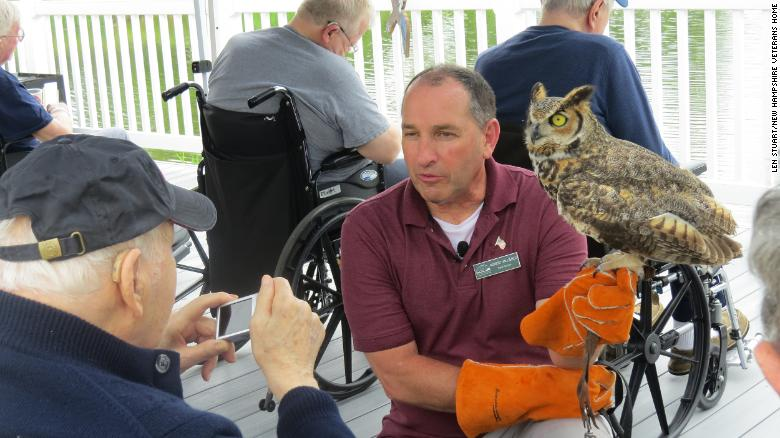 Injured veteran finds purpose