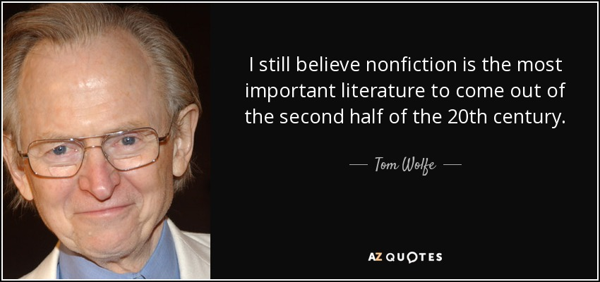 Non-Fiction Quote
