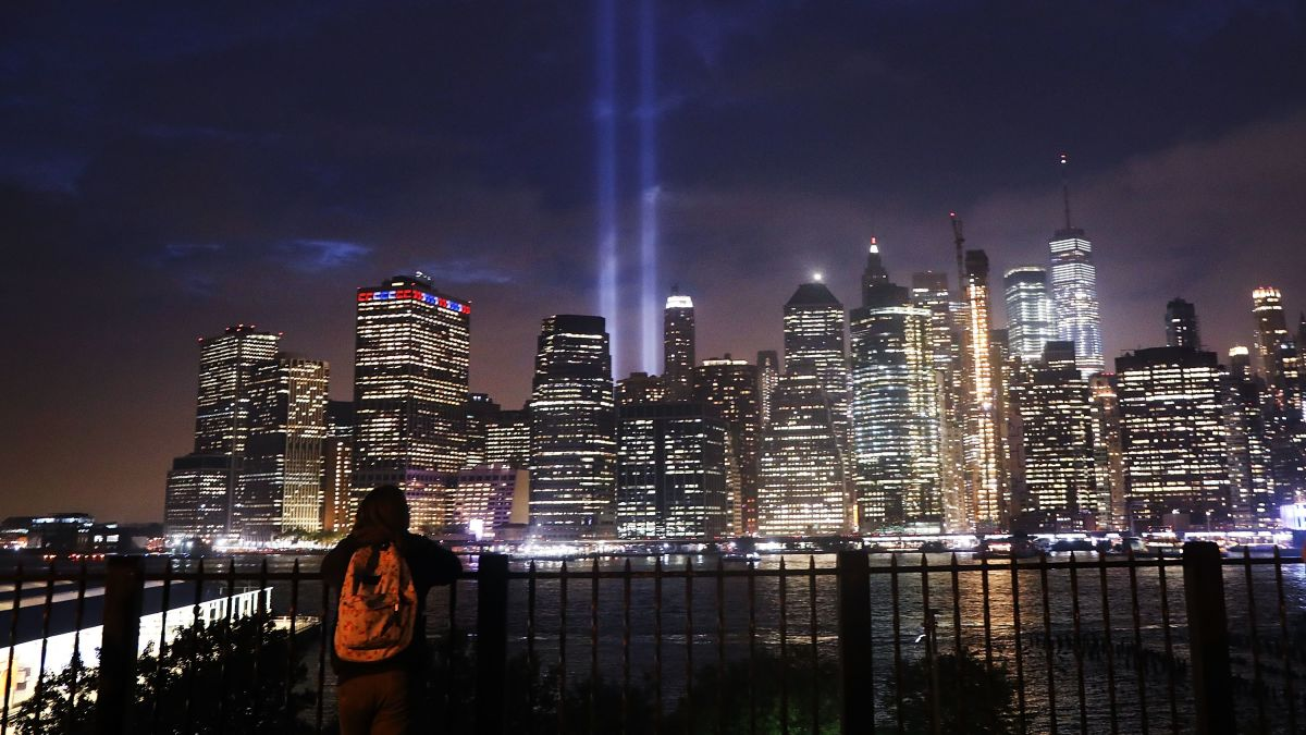 September 11th Tribute in Lights